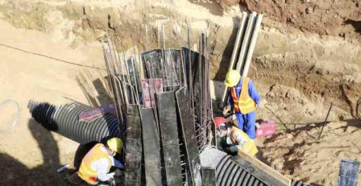抗击疫情·复工丨组图:洋浦疏港公路二期项目复工